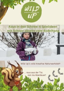 clevere Spiele im Schnee für Kinder