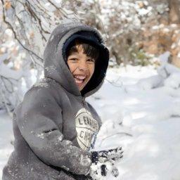 Mit Kindern in der Natur im Januar