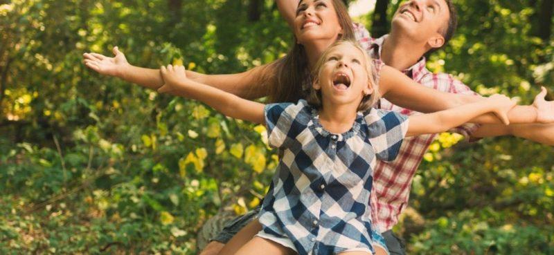 Wild Up Waldabenteuer für Familien