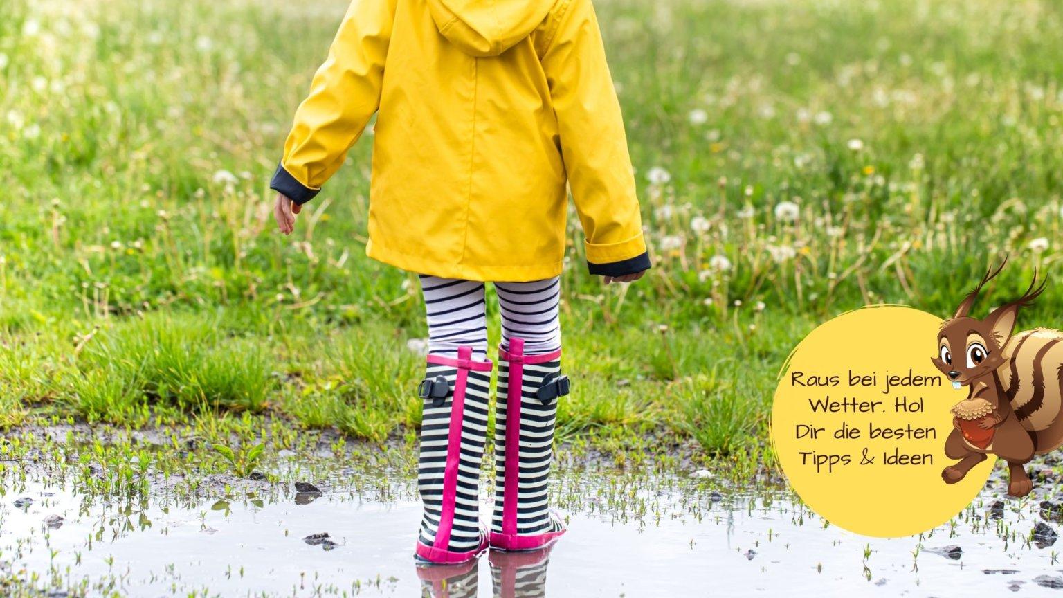 Kinder lüften bei jedem Wetter