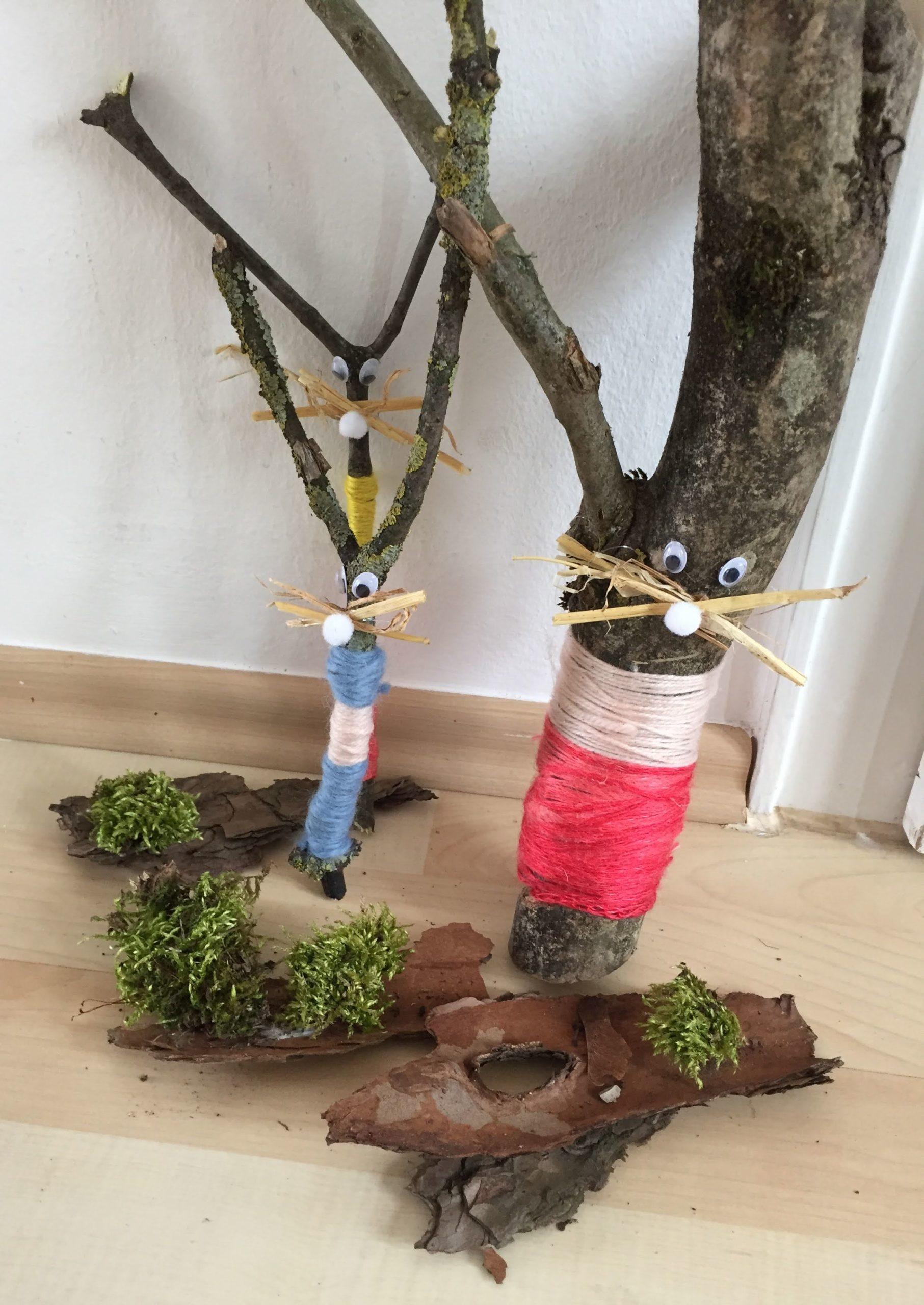 Wild Up Oster Bastelspaß mit Naturmaterial für Kinder