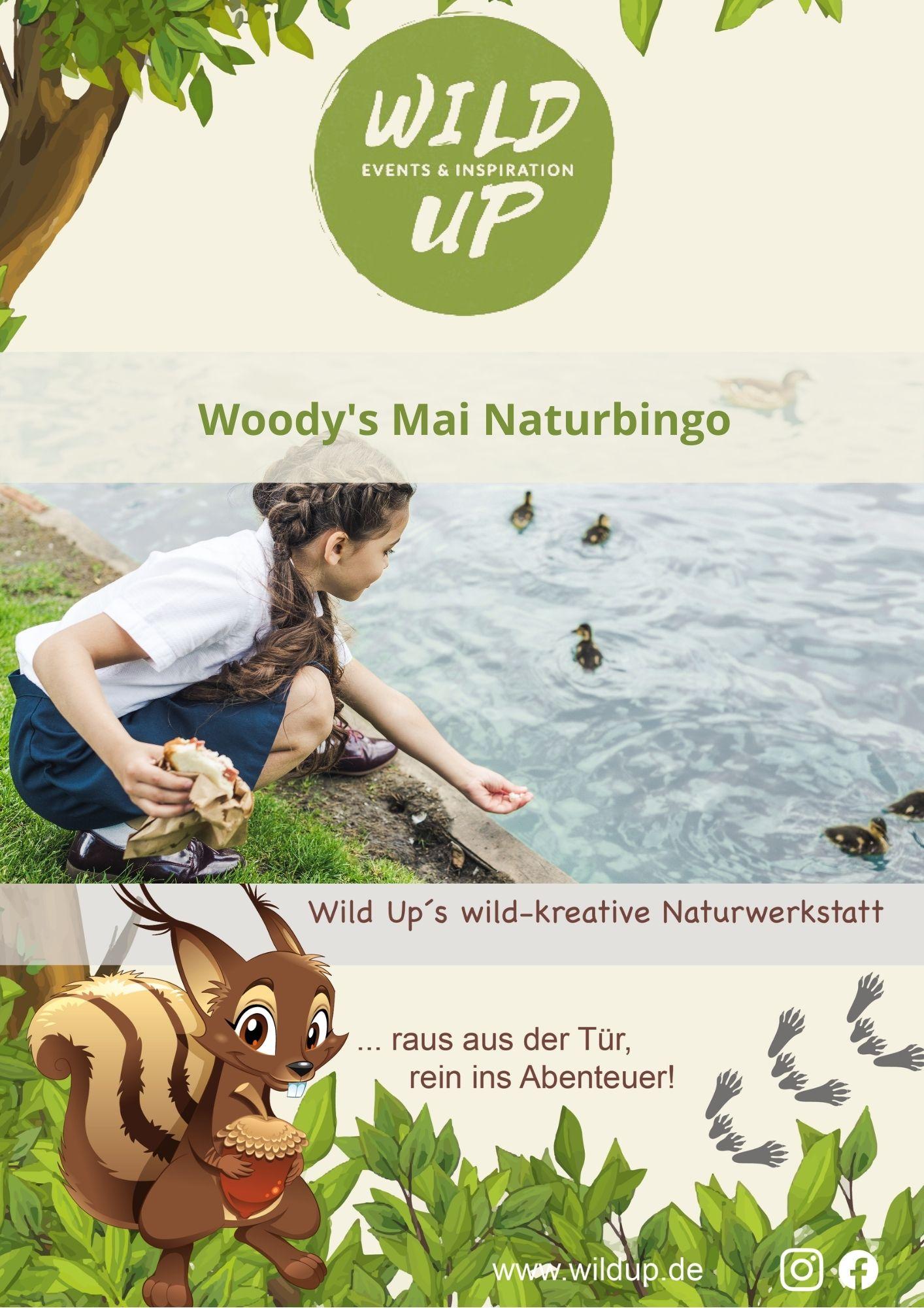 Natur entdecken mit Kindern im Mai