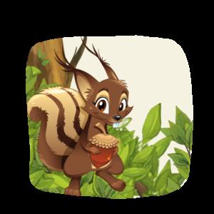 Eichhörnchen Woody
