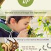 Pflanzen und Tiere im September mit Kindern entdecken in der digitalen Wild Up Naturwerkstatt