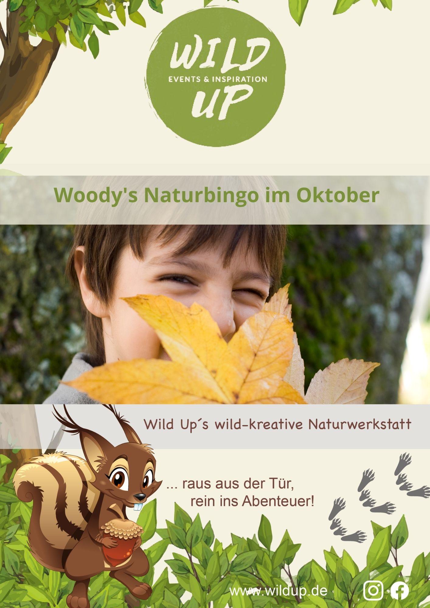 Wild Up Naturbingo für Oktober