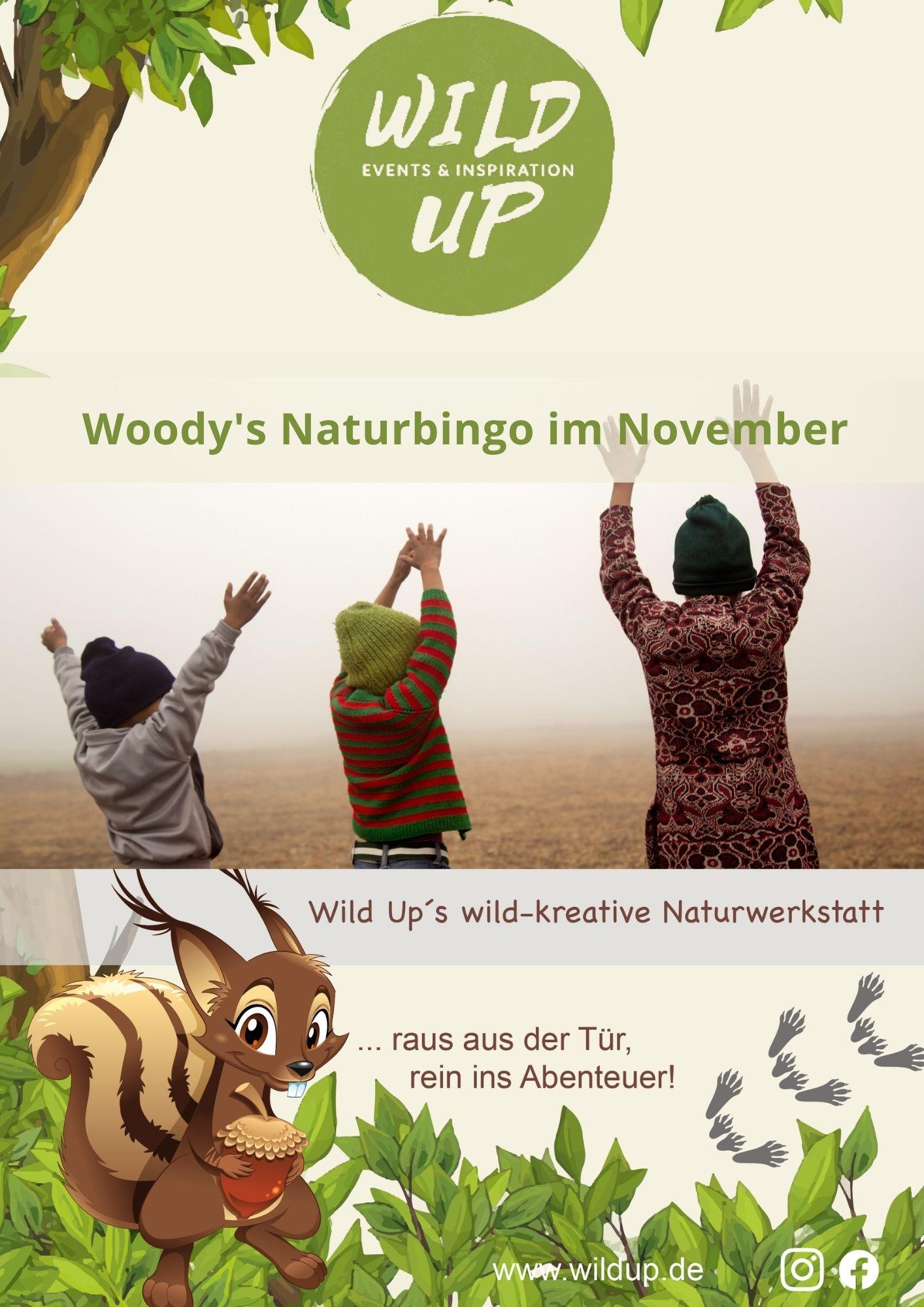 Naturbingo Suchspiel im November